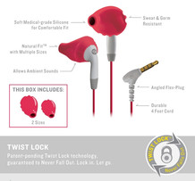 Yurbuds Ironman Inspire For Women Pink