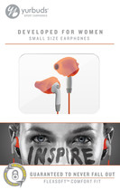 Yurbuds Ironman Inspire For Women Orange