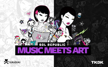 SOL Republic Tracks HD tokidoki